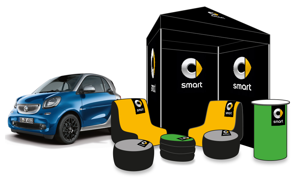 Entwurf smart Promotion-Kit