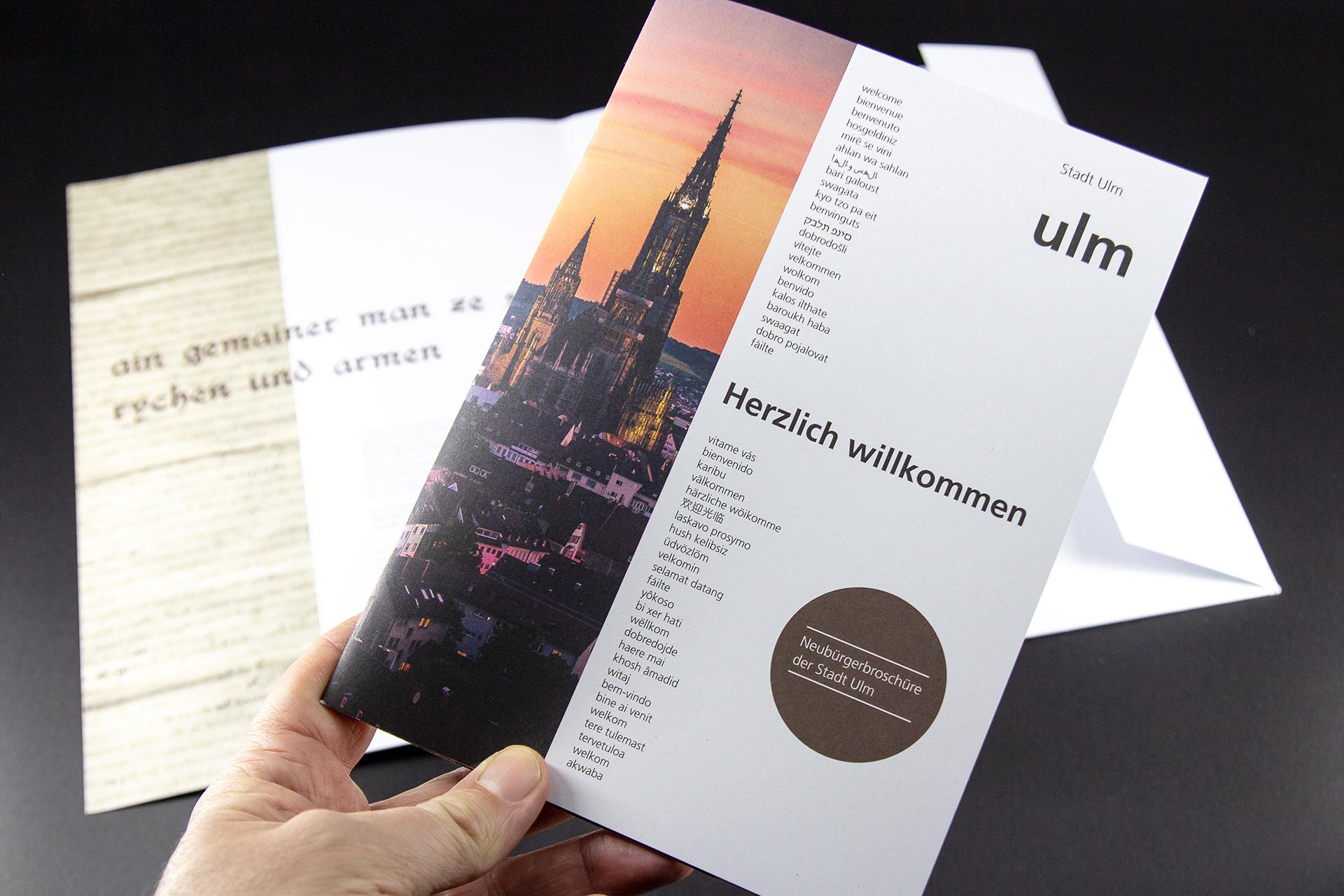 Neubürgerpaket Stadt Ulm