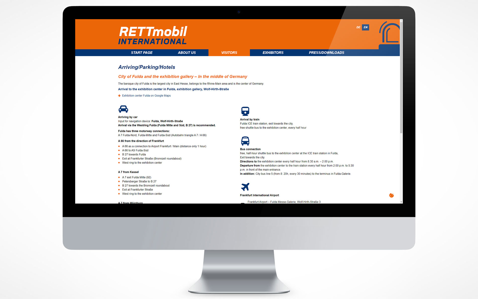 RETTmobil international